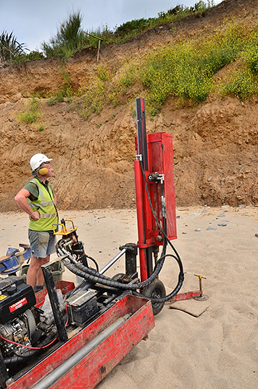 Phase 1+ Ground stability: A coastal stabilisation investigation, near Penzance, Cornwall